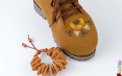 Ботинки Масленица рисунок на носке