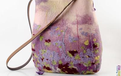 Поляна вид сумки сзади