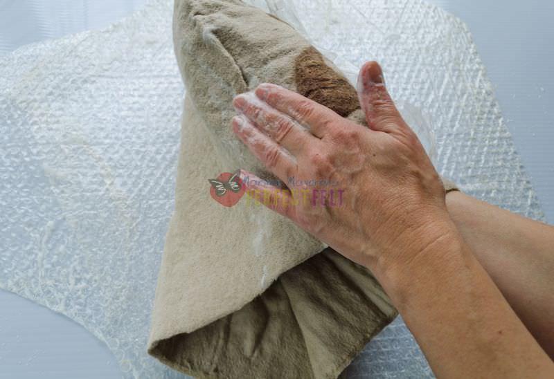 cb98b4ed4546 Валяние сумки мастер класс