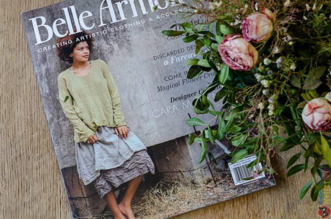 "Публикация моих работ в журнале ""Belle Armoire"" ."