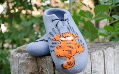 Felted_slippers_Garfield9