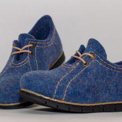 мастер класс туфли из войлока