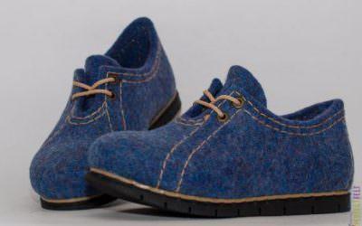 женские туфли ручной работы из войлока